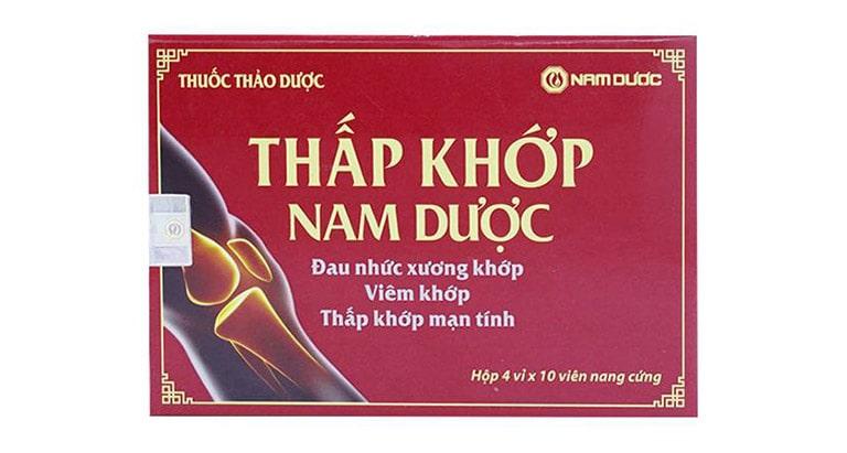 Thấp khớp nam dược - Thành phần và tác dụng phụ của thuốc