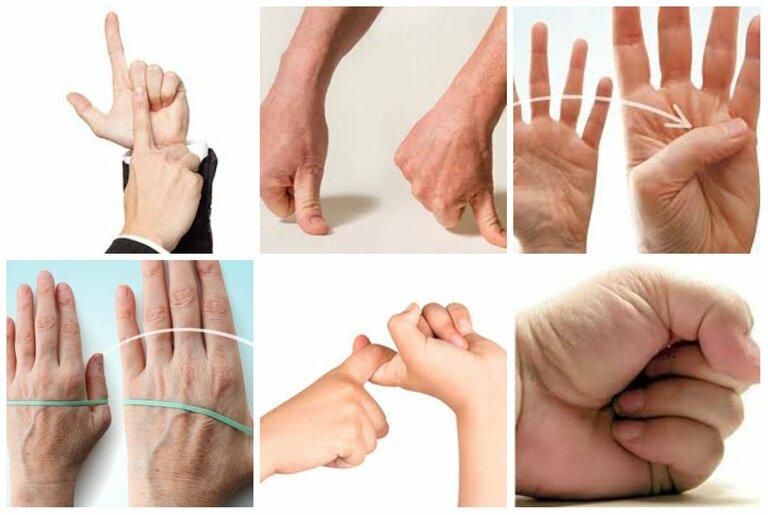 Thông qua các bài tập, tình trạng đau nhức các khớp ngón tay sẽ được cải thiện.