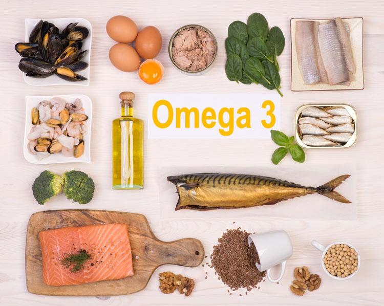 Thực phẩm giàu Omega-3 rất tốt cho người bị mụn