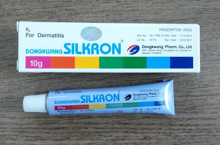 Thuốc 7 màu Sikron trị bệnh ngoài da và cách sử dụng đúng