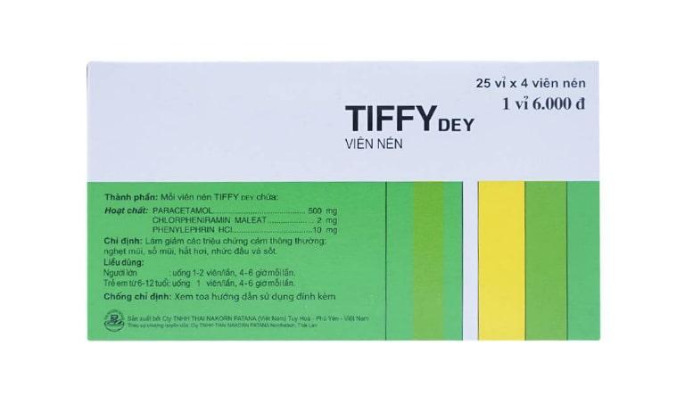Thuốc Tiffy có tác dụng gì?