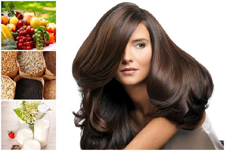 Mẹ nên bổ sung đủ dưỡng chất để kích thích tóc mọng nhanh hơn