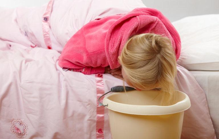 Trẻ nôn ói thường xuyên gây suy nhược và chậm tăng cân