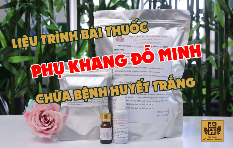Bài thuốc chữa bệnh phụ khoa của Đỗ Minh Đường