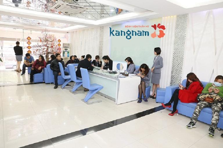 Bệnh viện thẩm mỹ Kangnam cũng là địa chỉ trị mụn uy tín được nhiều người lựa chọn