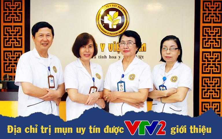 Trung tâm Da liễu Đông y Việt Nam được VTV2 giới thiệu là địa chỉ chữa mụn trứng cá hiệu quả hiện nay