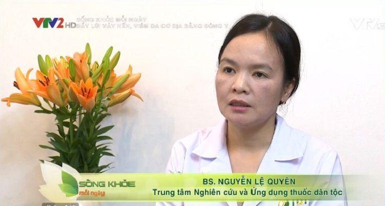 VTV2 đưa tin bệnh nhân điều trị viêm da cơ địa thành công