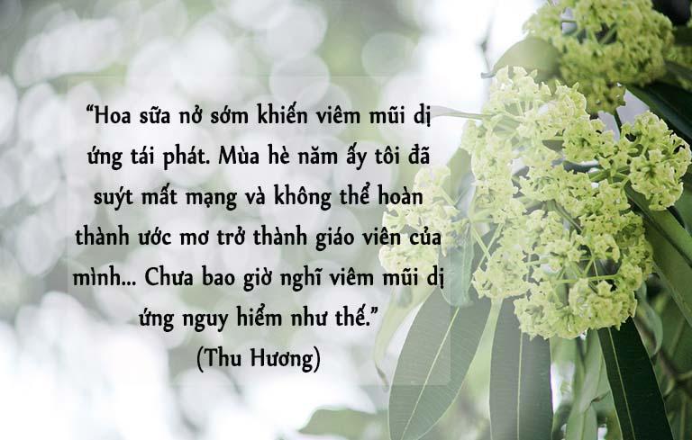 Chia sẻ của Thu Hương