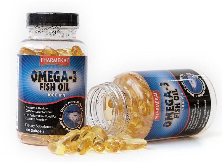 Viên uống dầu cá hỗ trợ trị mụn Fish Oil