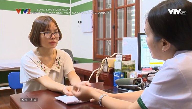 VTV2 đưa tin bệnh nhân điều trị thành công viêm da cơ địa tại Trung tâm Thuốc dân tộc