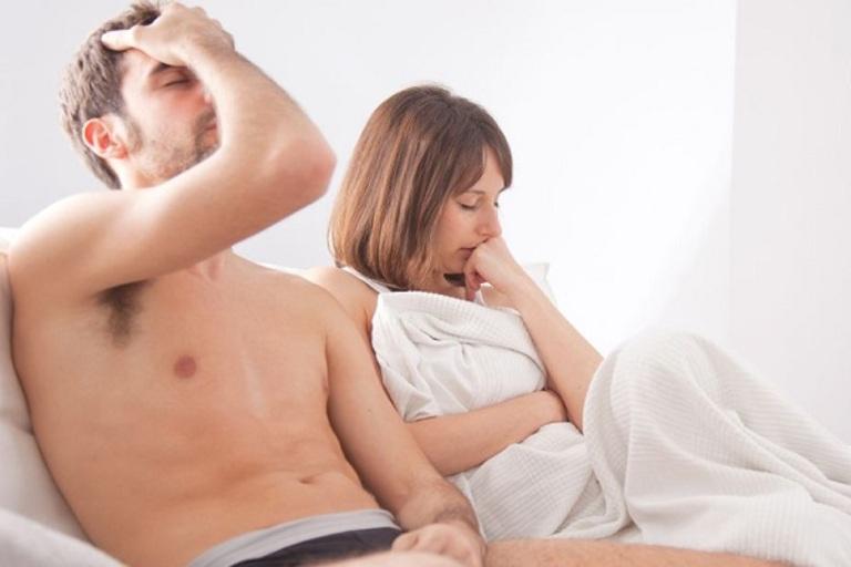 Suy giảm ham muốn, yếu sinh lý gây ảnh hưởng đến cuộc sống hôn nhân