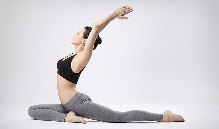 Tập luyện yoga giúp chị em phòng ngừa tình trạng đau thắt lưng