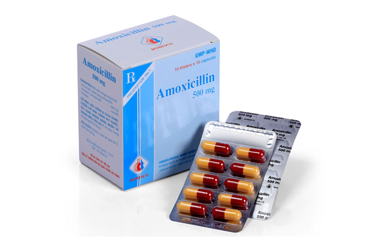 Viêm họng uống thuốc kháng sinh gì? - Amoxicillin