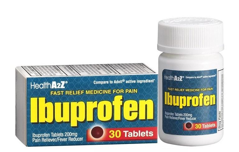 Ibuprofen giúp giảm viêm đau, sưng họng hiệu quả