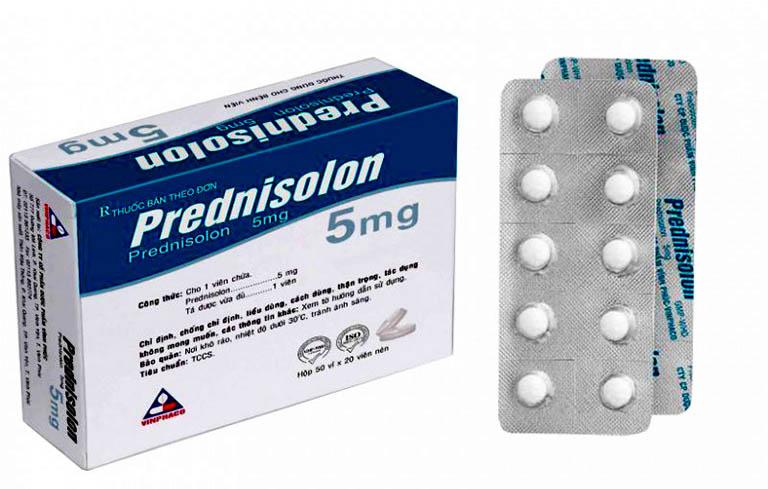 Viêm họng mãn tính uống thuốc gì? Prednisolon