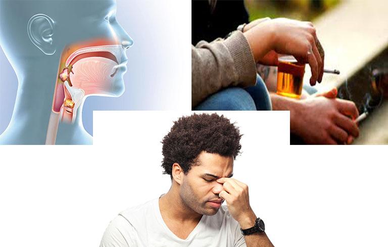 Nguyên nhân chính gây áp xe phổi chủ yếu từ các bệnh lý đường hô hấp, các tổn thương ở họng và một số thói quen xấu