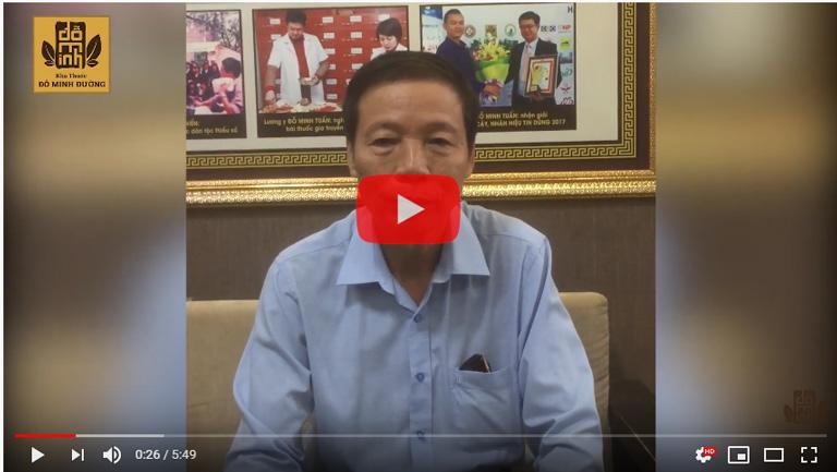 Ông Nghĩa kể về hành trình chữa gai cột sống tại Đỗ Minh Đường