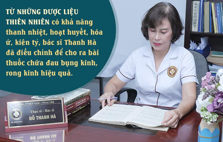 Bác sĩ Đỗ Thanh Hà luôn cẩn trọng việc kê đơn thể mang lại hiệu quả tốt nhất
