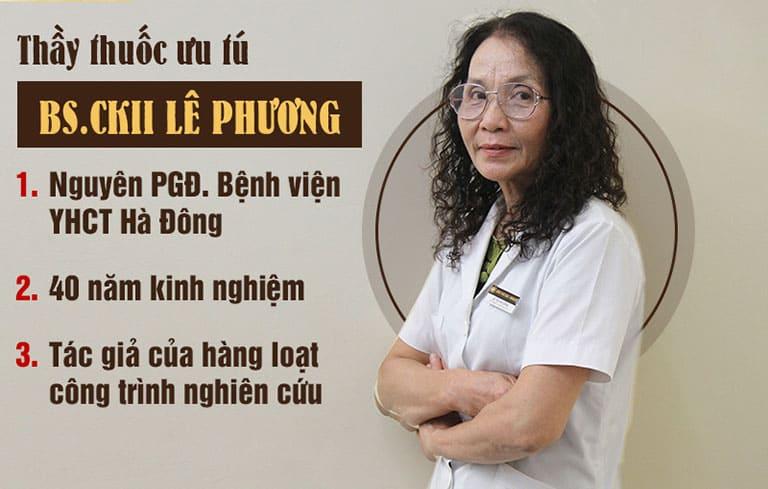 Bác sĩ Lê Phương vói 40 năm kinh nghiệp trong nghề