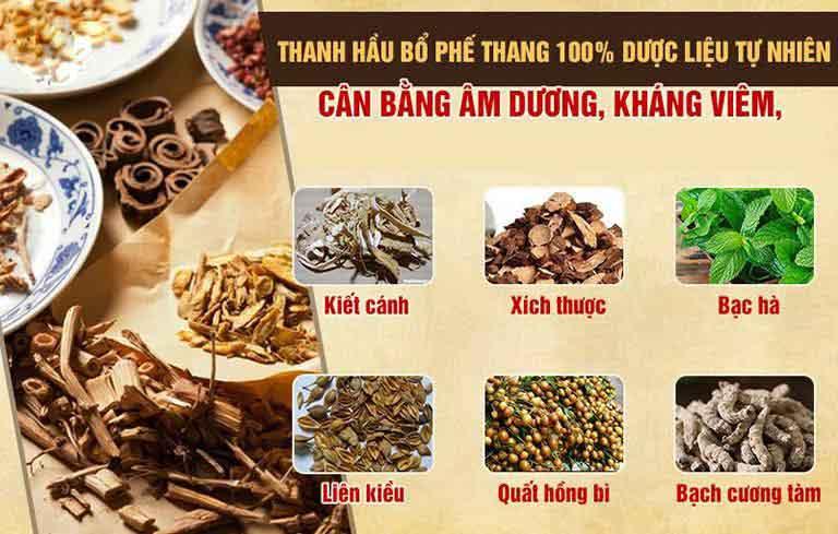 Bài thuốc Thanh Hầu Bổ Phế Thang chữa viêm họng từ Trung tâm Đông y Việt Nam