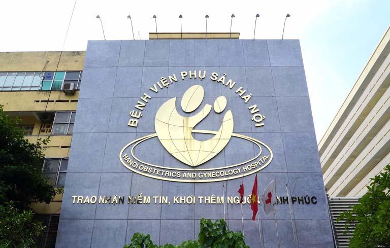 Bệnh viện Phụ sản Hà Nội là địa chỉ khám chữa hiếm muộn tốt cho bạn
