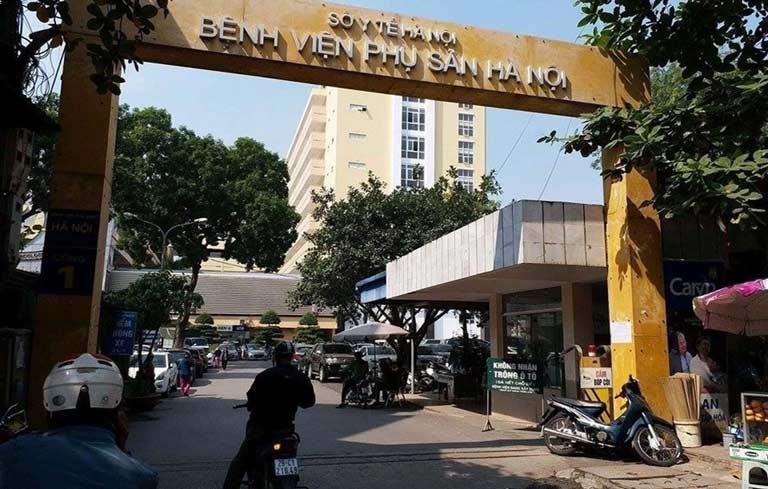 Bệnh viện Phụ sản Hà Nội sở hữu đội ngũ bác sĩ giỏi
