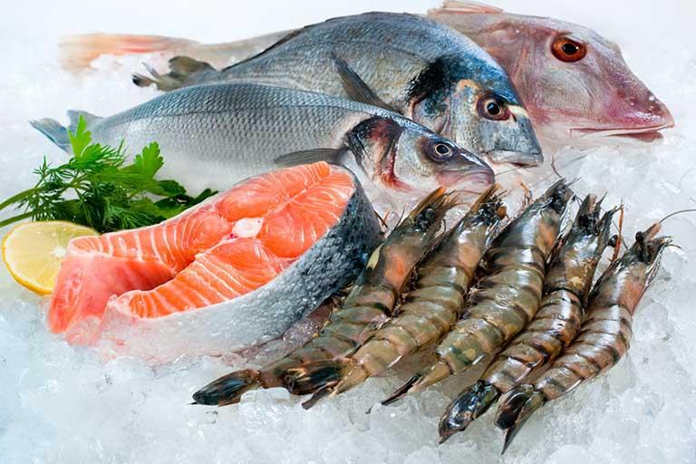 Thực phẩm có mùi tanh, hải sản