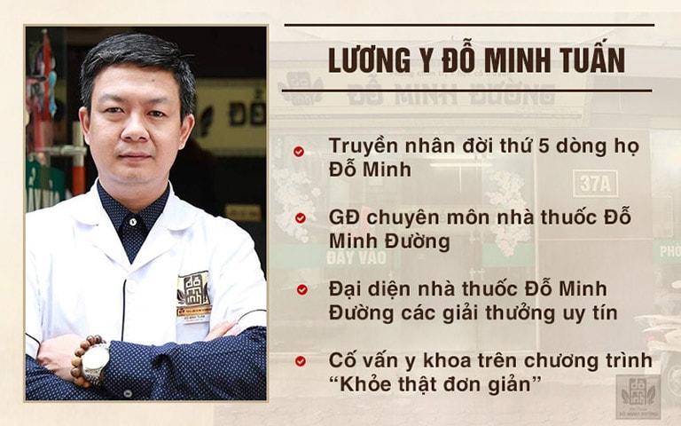 Vị lương y tâm huyết, hết lòng vì người bệnh tại nhà thuốc Đỗ Minh Đường
