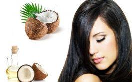 Cách trị tóc bạc sớm bằng dầu dừa