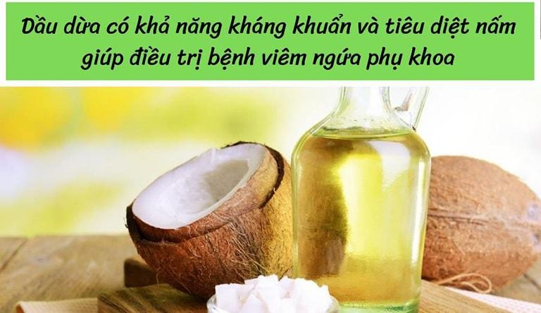Khả năng chữa nấm candida của dầu dừa đã được chứng minh trong nhiều nghiên cứu