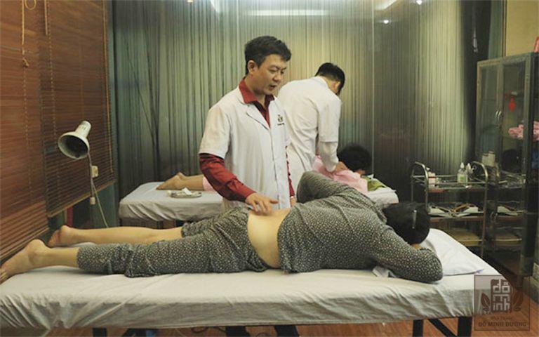 Xoa bóp, bấm huyệt chữa thoát vị đĩa đệm tại Đỗ Minh Đường được nhiều bệnh nhân tin tưởng