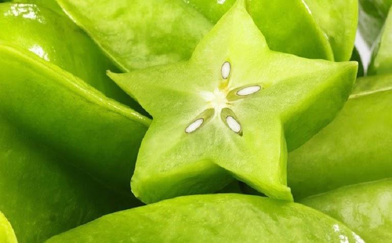 Khế chua nhiều lượng vitamin C giúp cải thiện chứng tóc bạc sớm hiệu quả