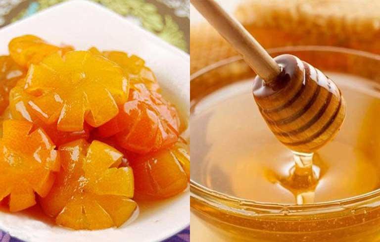 Chữa viêm họng hạt mãn tính bằng thuốc dân gian từ quất và mật ong giúp dịu họng nhanh chóng