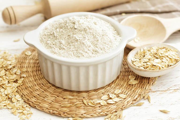 Cải thiện tình trạng da khô và bong tróc bằng bột yến mạch