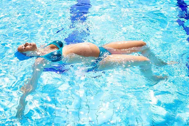 Luyện tập dưới nước