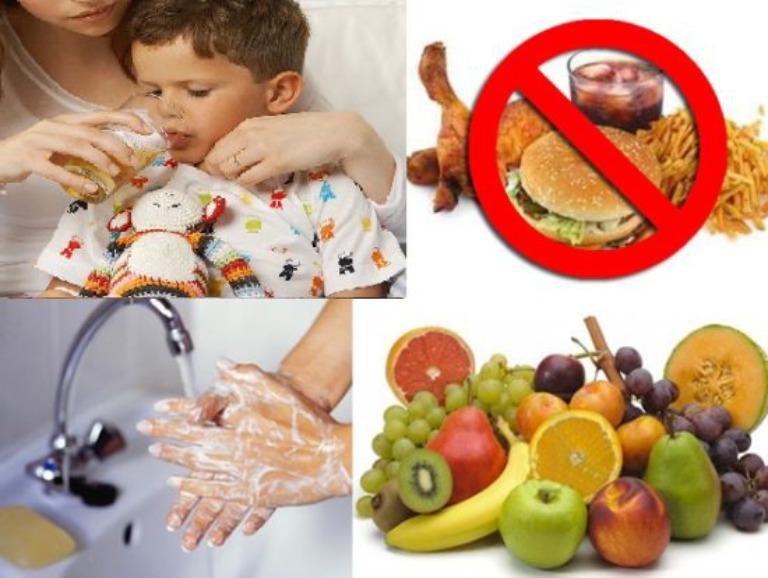Chữa viêm dạ dày ruột ở trẻ em bằng phương pháp bảo tồn
