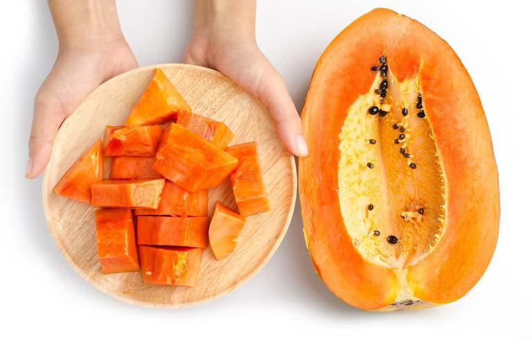 Đu đủ cũng là một loại trái cây nên bổ sungĐu đủ cũng là một loại trái cây nên bổ sung