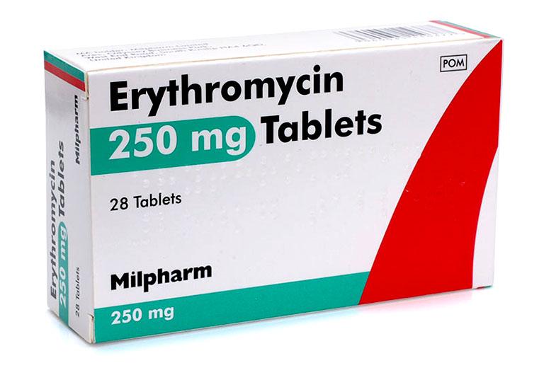Viêm họng uống thuốc gì? Thuốc kháng sinh Erythromycin