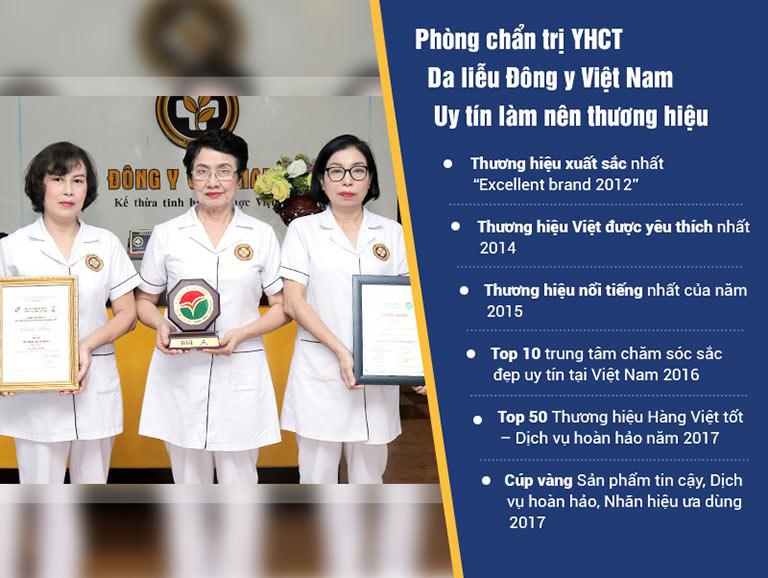 Trung tâm Da liễu Đông y Việt Nam là đơn vị uy tín trong điều trị các bệnh da liễu
