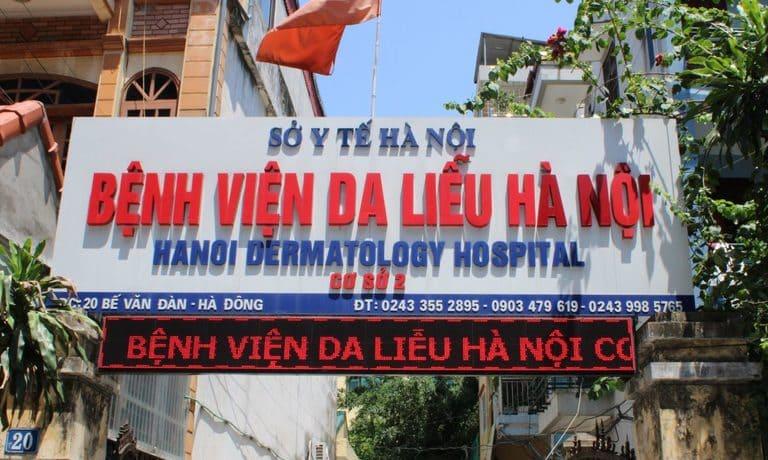 bệnh viện chữa nấm da đầu ở Hà Nội