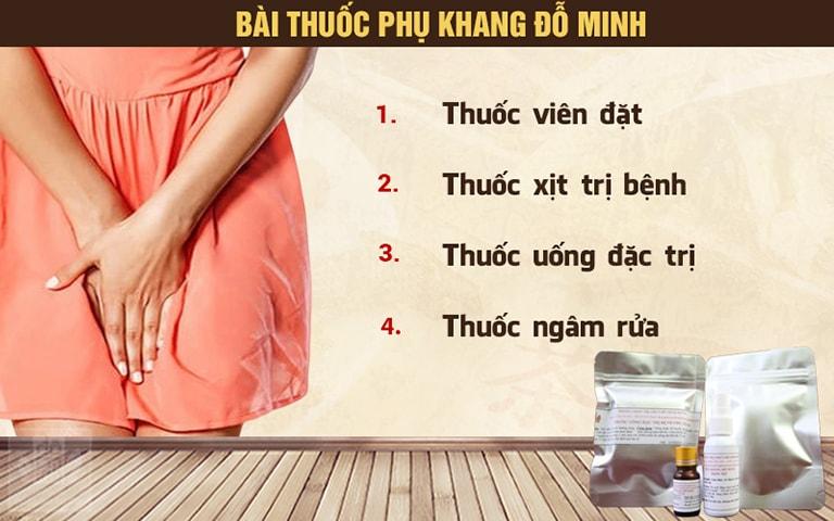Bài thuốc Phụ khang Đỗ Minh chữa nấm phụ khoa