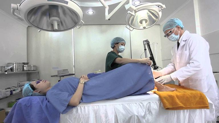 Xâm lấn được chỉ định trong trường hợp bị bệnh phụ khoa nặng