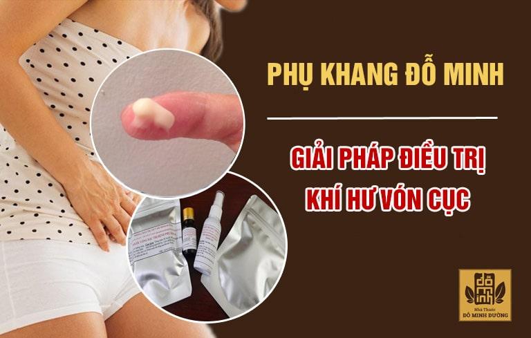 Bài thuốc đông y gia truyền chữa khí hư vón cục dứt điểm