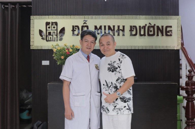 Nghệ sĩ Xuân Hinh đã khỏi bệnh thoái hóa đốt sống cổ nhờ phác đô điều trị do lương y Tuấn đưa ra.