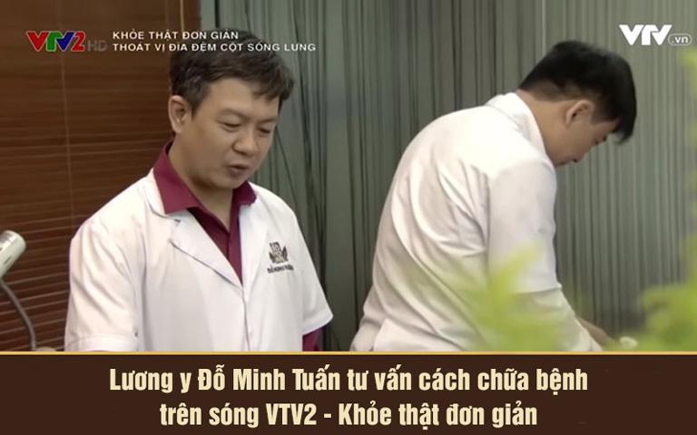Lương y Đỗ Minh Tuấn tư vấn cách chữa bệnh trên VTV2 Khỏe thật đơn giản
