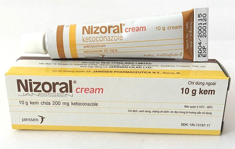 Nizoral - loại thuốc bôi thường dùng trong điều trị nấm candida