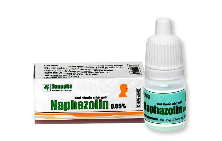 Thuốc trị nghẹt mũi Naphazolin