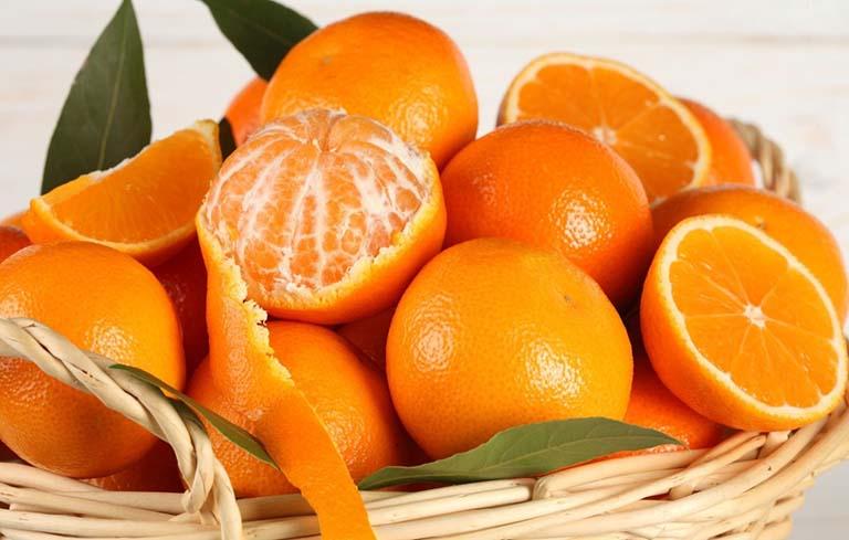 Cam, quýt chứa lượng lớn vitamin C cần nạp vào cơ thể trong kỳ kinh nguyệt