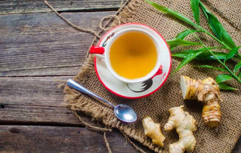 Trào ngược dạ dày nên uống trà gừng