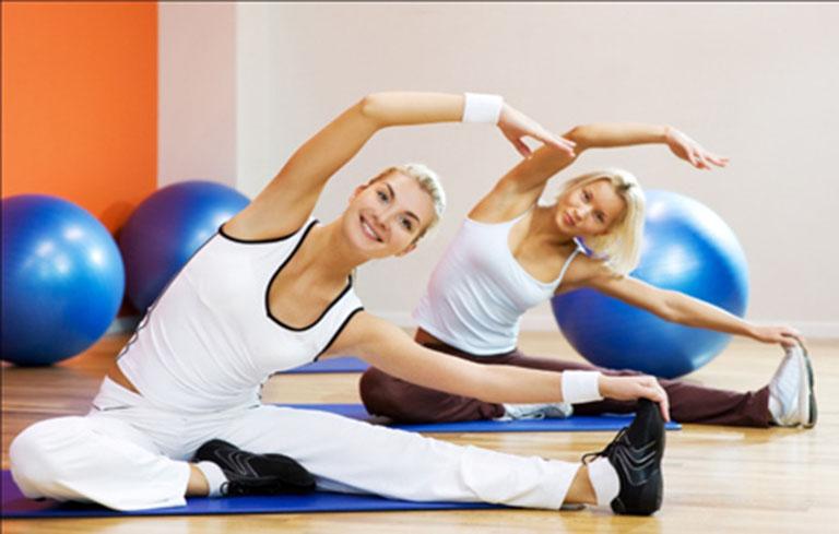 Việc có một chế độ sinh hoạt lành mạnh, thường xuyên tập luyện rất tốt cho cơ thể và hạn chế rong kinh